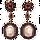 Thumbnail: BLUE & PINK SAPPHIRE DIAMOND PEARL EARRINGS