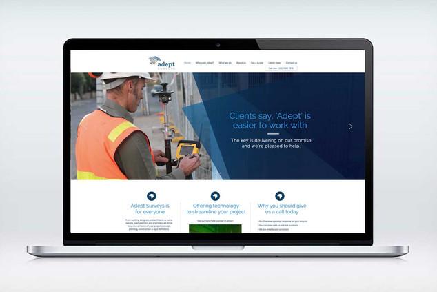 Adept Surveys Website