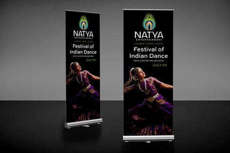 Natya Retractable Banner