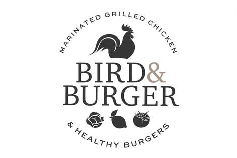 Bird & Burger Company Logo