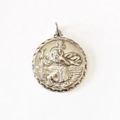 Silver St. Christopher 2.7cm