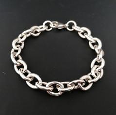 Chuncky Silver Bracelet