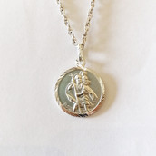 Silver St. Christopher 2c