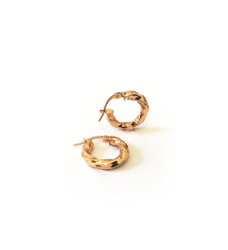 G5121 1.5cm Gold Hoop