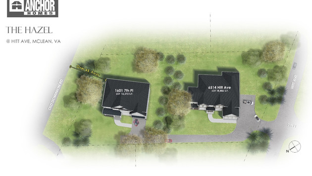 HOT SALE|McLean's New Lots Can Accommodate Two Luxurious Villas!