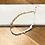 Thumbnail: Collar caracoles dorados y piedras en blanco