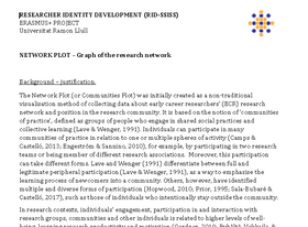 Network Plot: Guide to use it in research education