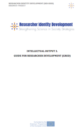 Guide for Researcher Development (GRED)