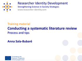Conducting a Systematic Review: Process and Tips