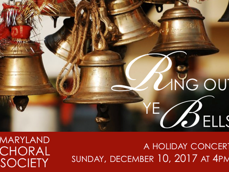 """""""Benediction"""" premiere by Maryland Choral Society today!"""