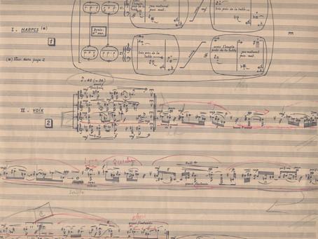 Le silence déjà funèbre - Pierre Boulez (1925 - 2016)