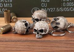 TND Bill's Skull Keychains