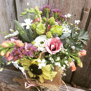 Mason Jar arrangement