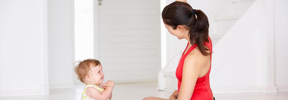 Yoga van de baby