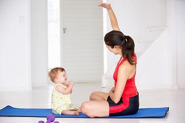 bebê Yoga