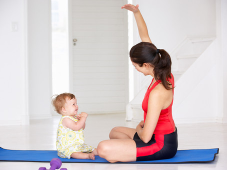 5 yoga hacks for new mums who have no time