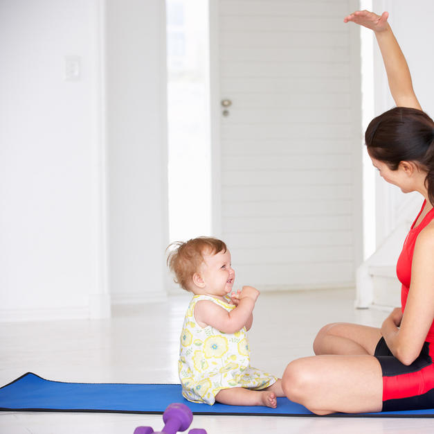 SERIES:  Strong Momma Pre/Post Natal