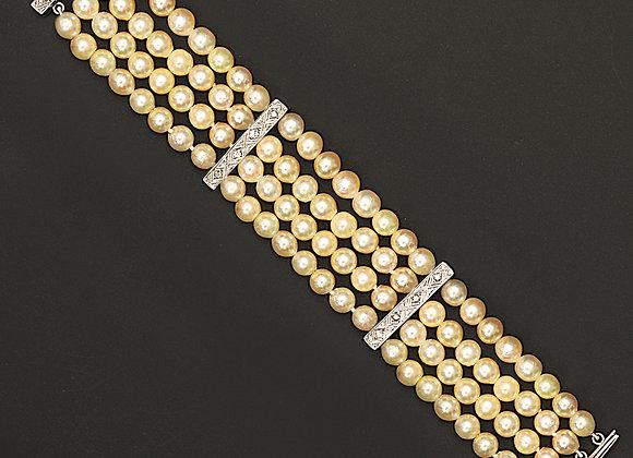 """Bracelet de perles de culture """"Nacres sublimes"""""""