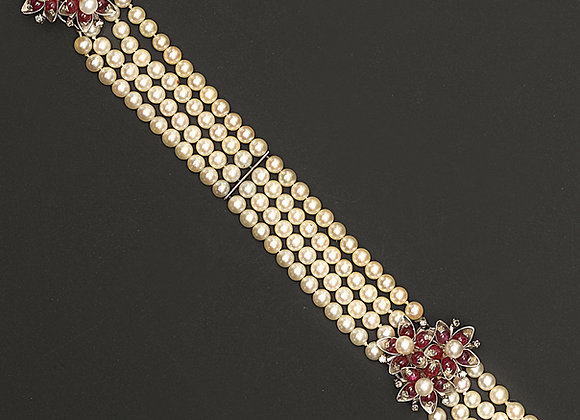 "Bracelet perles de culture ""Pamoison"""