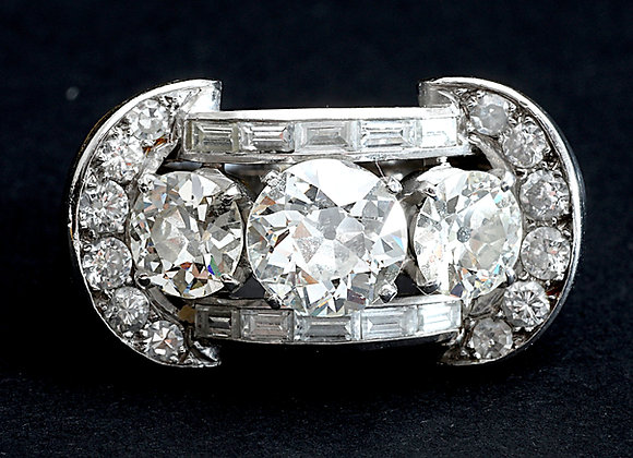"""Bague platine or gris et diamants """"My Dream"""""""