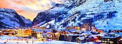 Front de neige de Val d'Isère