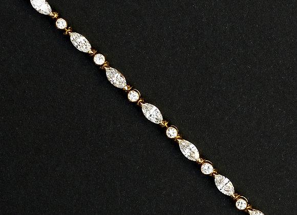 """Rivière de diamants """"Rebelle Amazone"""""""