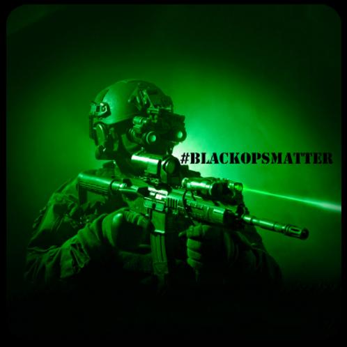 #BlackOpsMatter Sticker