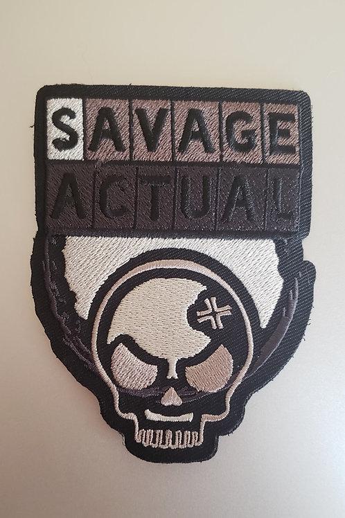 Savage Actual Logo Patch