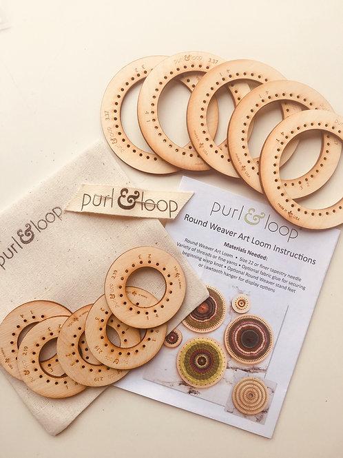 Cercles à tisser Purl and Loop