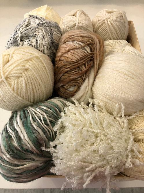 Lot de laine spécial TISSAGE