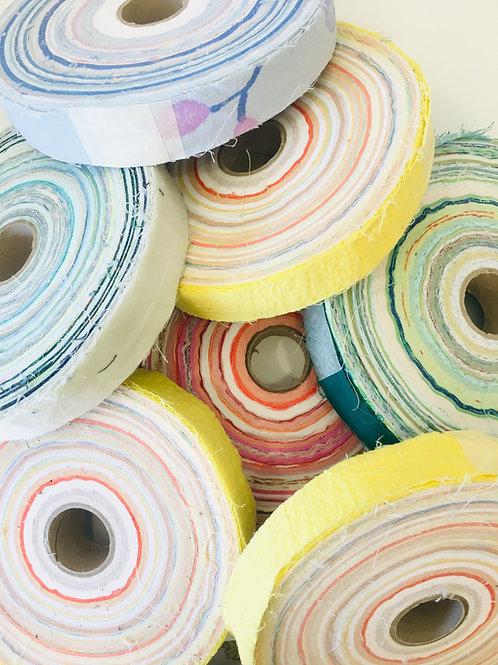 Rouleau de coton recyclé