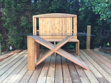 Monk bench and Table