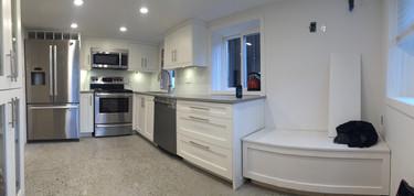The white kitchen
