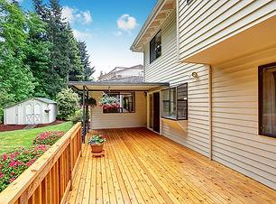deck installation in la pine
