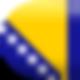 Flagge von Bosnien