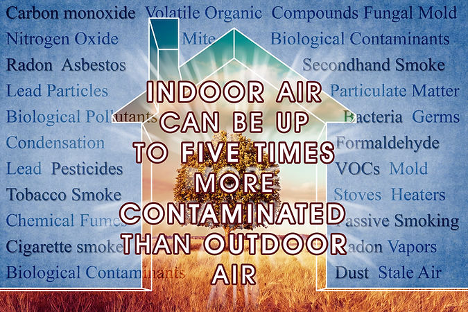 Indoor Air More Contaminated than Outdoo