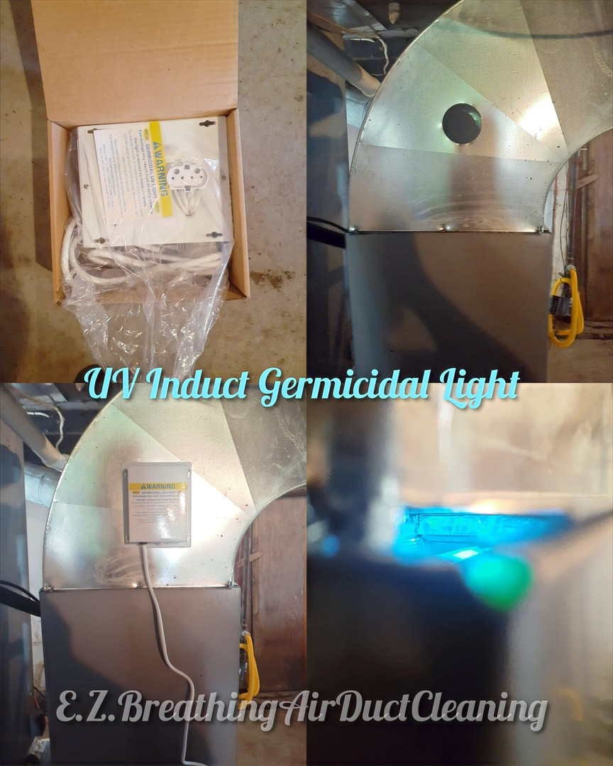 UV Induct Germicidal Light