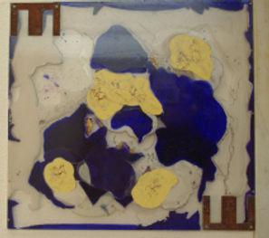 mouvances . peinture sur plexiglas