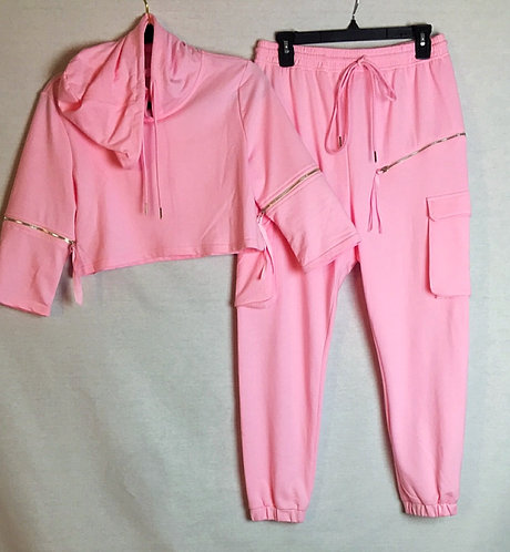 Stay On Track Jogger Set