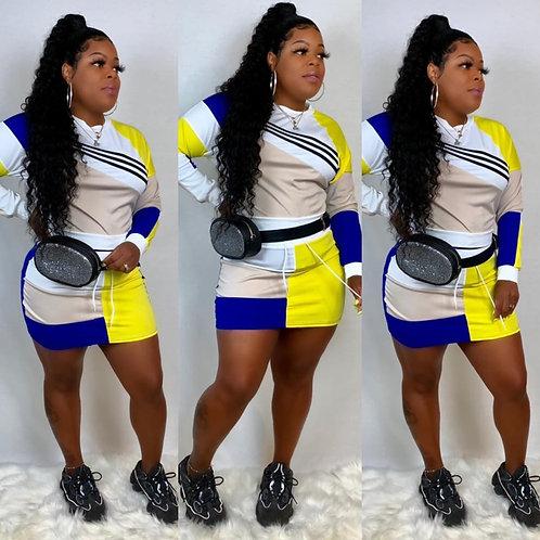 Sporty Skirt Set