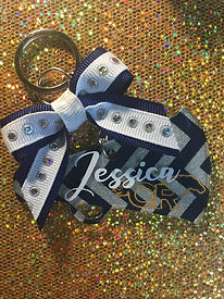 Customized Varsity Cheerleading Keychain