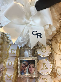 Cypress Ranch Classics dance team homecoming bow
