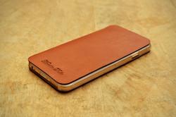 iPhone 6 掀蓋式皮套-黃棕