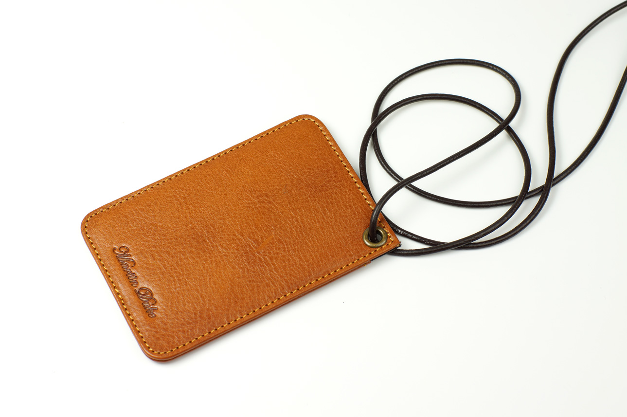 Leather ID holder