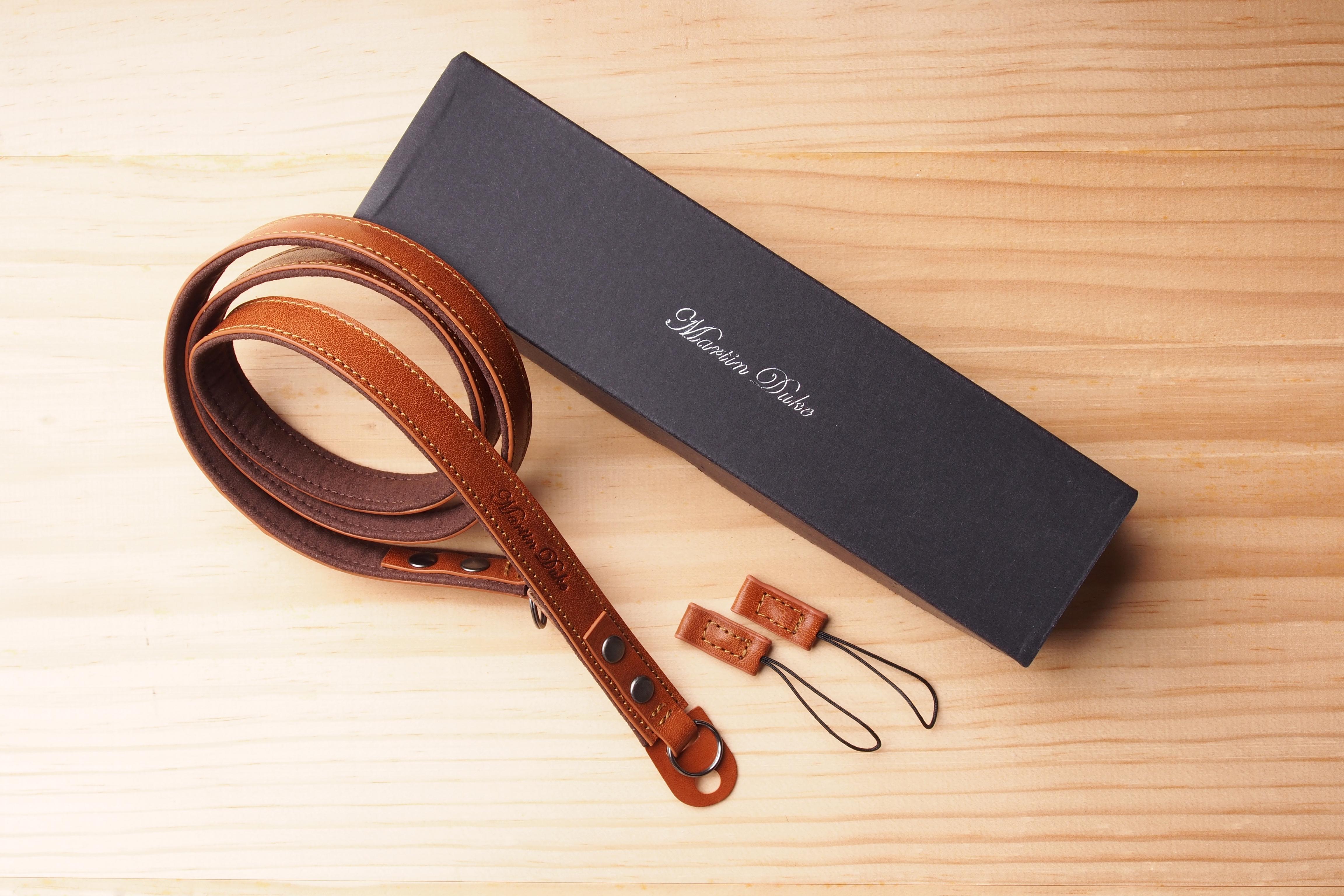 SVEN Ring Neck Strap-Light Brown