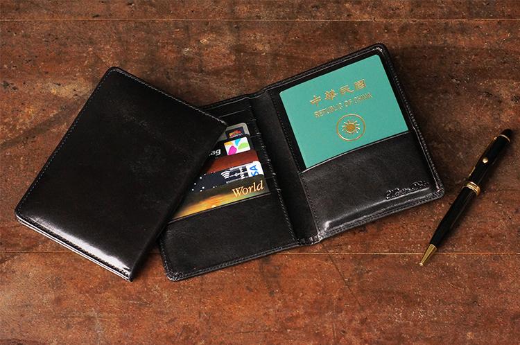Leather Passport Holder 真皮護照夾