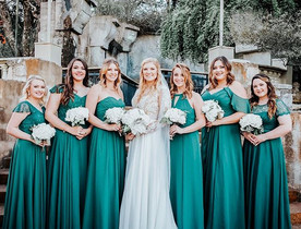 Such a stunning bridal party ✨_._._._._�
