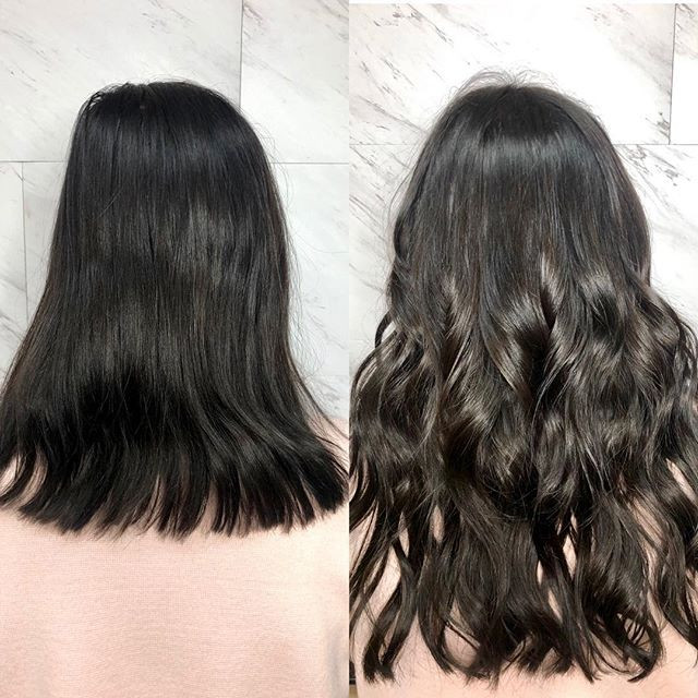 2 rows of Habit Hand Tied Extensions, fo