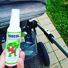 Bring ISOCOL on every walk with the baby