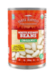 Organic White Kidney Beans BPA-free lining Dunya Harvest